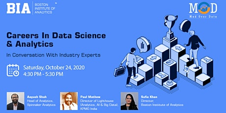 Careers In Data Science & Analytics tickets