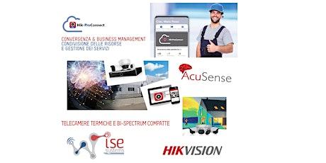 Hik-ProConnect  AcuSense e Termocamere HIKVISION biglietti
