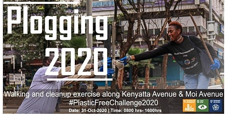 Plastic Free Week and Plogging Challenge 2020- Nairobi tickets