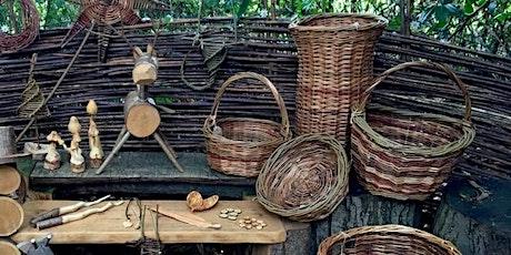 Basket weaving course at Bradfield Woods EOC 2806 tickets