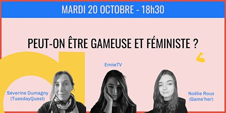 Peut-on être gameuse et féministe ? tickets