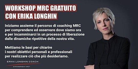 Workshop gratuito di coaching MRC tickets