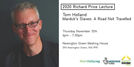 2020 Richard Price Lecture: Tom Holland tickets