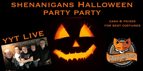 Shenanigans Halloween Party feat YYT tickets