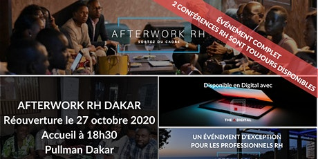 AfterWork RH Dakar - Ré-ouverture des événements Ressources Humaines billets