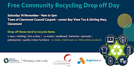 Community Recycling Drop-off Day Claremont