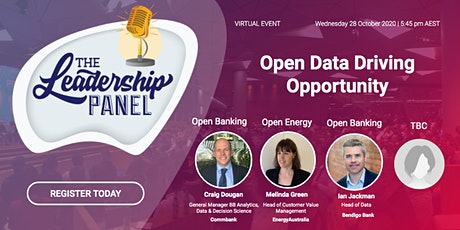 "The Leadership Panel - ""Open Data Driving Opportunity"" tickets"