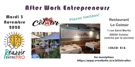 Afterwork entrepreneurs Colmar Tickets
