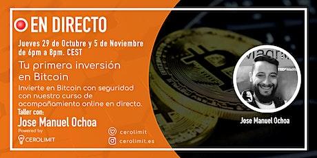 Tu primera inversión en Bitcoin entradas