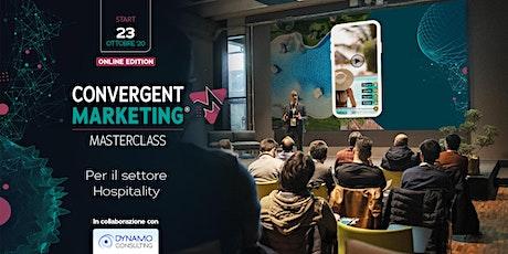 MasterClass | Il Convergent Marketing®  per il settore Hospitality biglietti