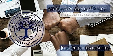 Journée portes ouvertes Campus Academy billets