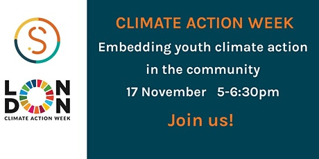 Embedding youth climate action in the community tickets