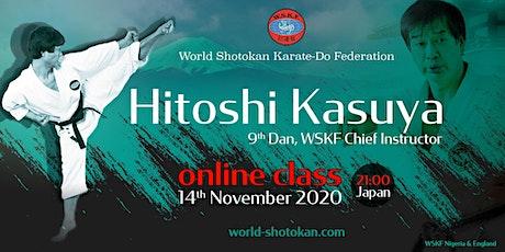 Hitoshi Kasuya Sensei OnLine Seminar tickets