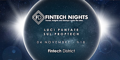 Fintech Nights - Proptech tickets