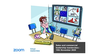 Strong sales into 2021 leaders masterclass - 10th November 2020 tickets