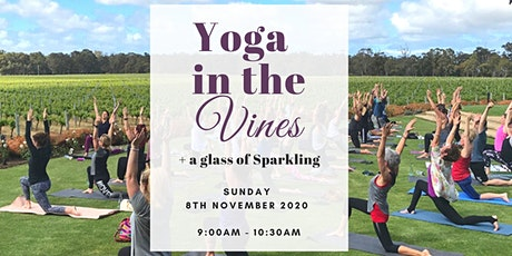 Yoga in the Vines + Sparkling tickets