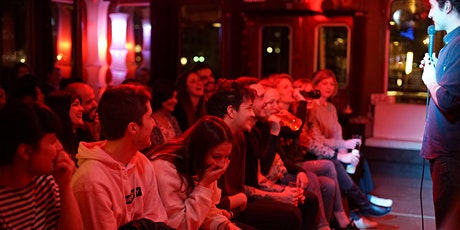 New in Town #18- English Comedy SHOW!  # FREE SHOTS tickets