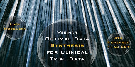Optimal Data Synthesis for Clinical Trial Data tickets