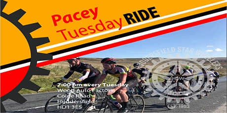 Tuesday Pacey Ride tickets
