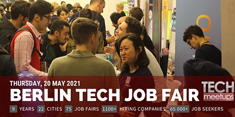 Berlin Tech Job Fair By Techmeetups tickets