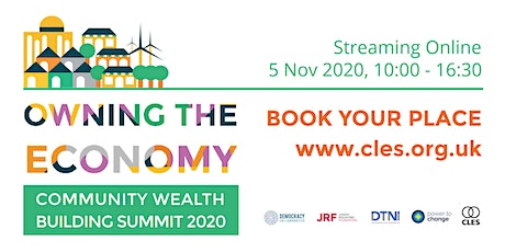 'Owning the Economy' Community Wealth Building Summit 2020 tickets