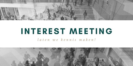 Interest Meeting tickets