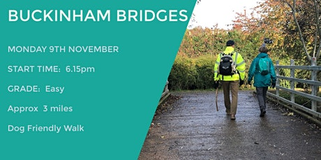 BUCKINGHAM BRIDGES WALK | 3.2 MILES | EASY | BUCKS tickets