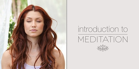 Introduction to Meditation - ideal for beginners tickets