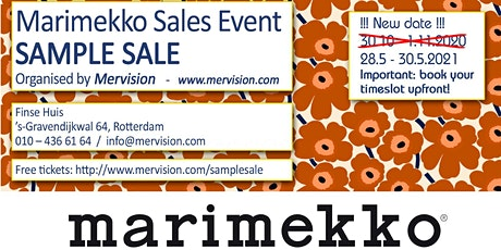 Marimekko Sample Sale tickets