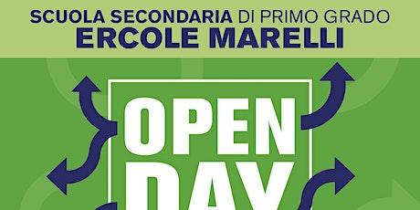 """Open Day 2020: Scuola Secondaria di Primo Grado """"Ercole Marelli"""" biglietti"""