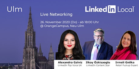 LinkedinLocal Ulm II - Live Networking im OrangeCampus Tickets