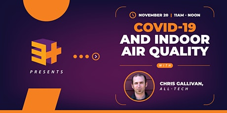 COVID and Indoor Air Quality tickets