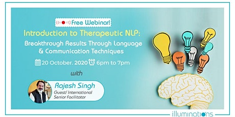 Free Webinar! Introduction to Therapeutic NLP: Breakthrough Results tickets