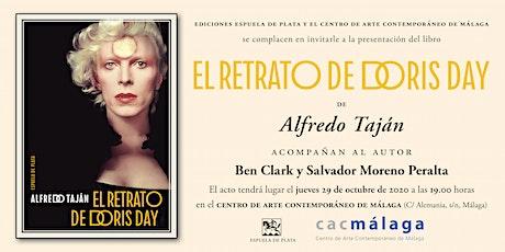 Presentación libro El retrato de Doris Day de Alfredo Taján entradas