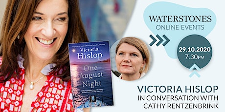 Victoria Hislop in conversation with Cathy Rentzenbrink tickets