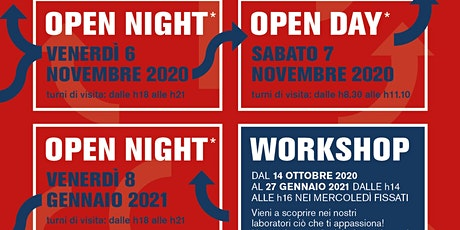 "Open Night/Day 2020/21: Liceo Scienze Umane ""Breda"" biglietti"