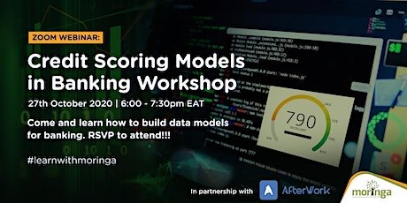 Data Science in Banking: Building Credit Scoring Models tickets
