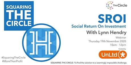 Squaring The Circle on Social Return On Investment with Lynn Hendry tickets