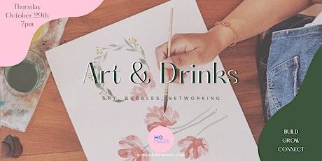 ART & DRINKS billets