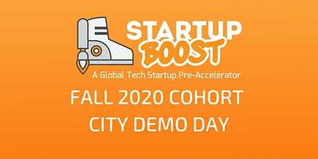Startup Boost Pre-Accelerator Vancouver Demo Day December 2nd 2020 tickets