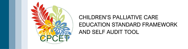 Children's Palliative Care Education Standard Framework and Self Audit Tool image