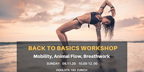 BACK TO BASICS WORKSHOP Tickets