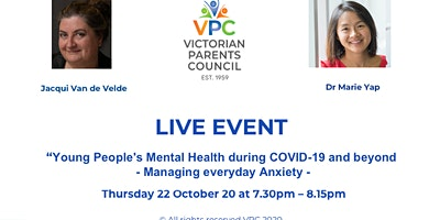 Young People's Mental Health during COVID – Managing Everyday Anxiety