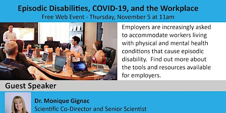 Episodic Disabilities, COVID-19, and the Workplace tickets