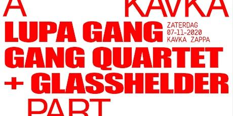WORDT VERPLAATST | APART met Lũpḁ Gang Gang Quartet + Glasshelder tickets