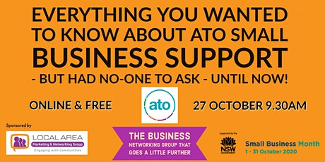 Everything you wanted to know about ATO Tax Support for Small Business tickets