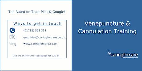 Venepuncture & Cannulation tickets