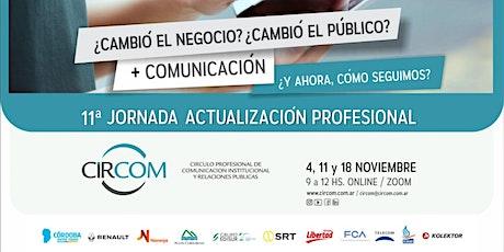 11a Jornada de Actualización Profesional entradas