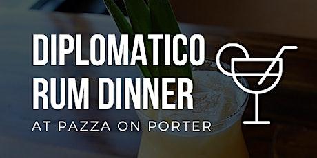 Diplomatico Rum Dinner tickets