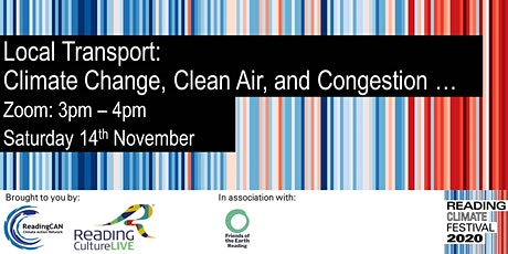 Local Transport: Climate Change, Clean Air, and Congestion … tickets